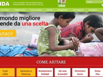 V.I.D.A. - Missioni umanitarie in India