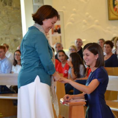 Silvia Carcangiu, Consacrata del Regnum Christi
