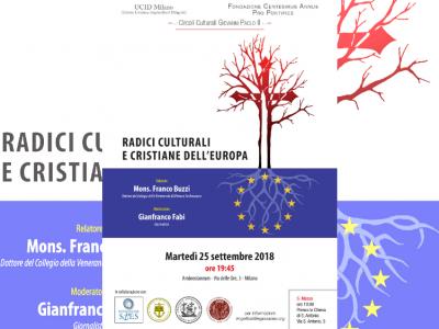 radici culturali e cristiane dell'Europa